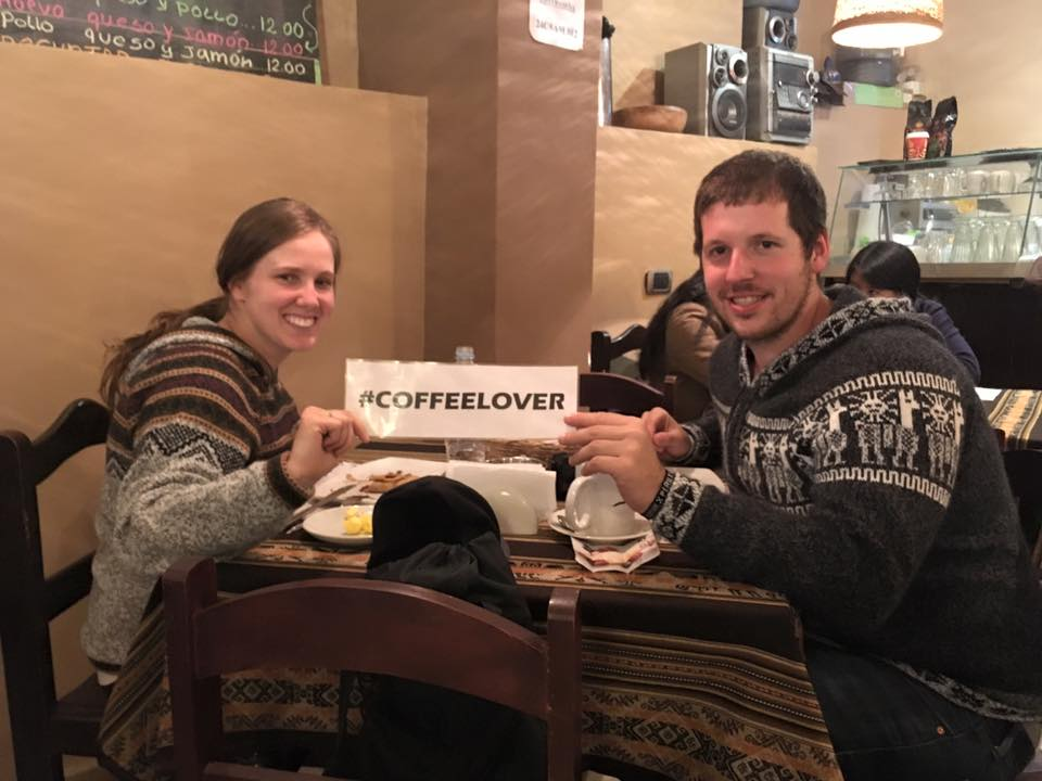 Crepes and Coffee in Cusco