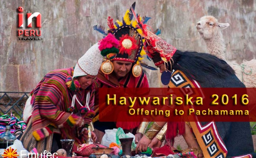 Haywariska 2016 – Offering to Pachamama