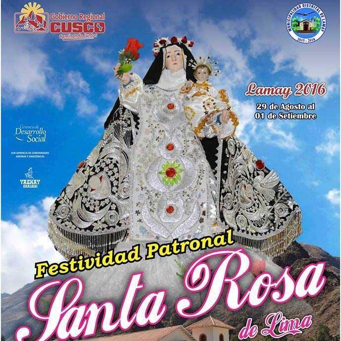 Festivity Santa Rosa of Lamay 2016