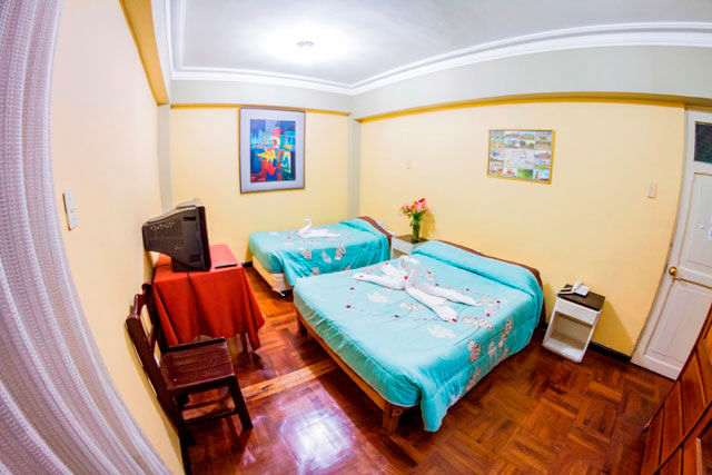 Double Room with two beds - Hotel Calicanto